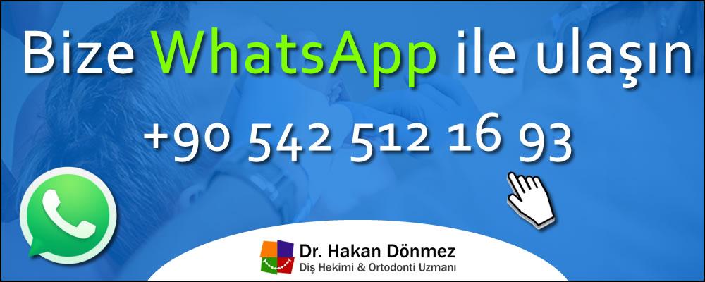 Dr. Hakan Dönmez WhatsApp